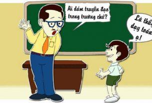 Mơ thấy thầy giáo đánh con gì?